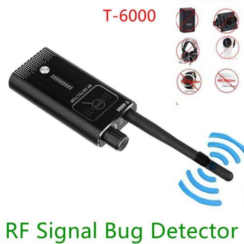 New Anti-Spy GPS Signal Lens RF Tracker Hidden Camera GSM  Bug Detector T-6000