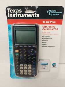 Texas Instruments TI 83 Plus Graphing Calculators Brand New