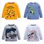 New-Kids-Boys-Long-Sleeve-T-Shirt-Fashion-Cartoon-Dinosaur-Top-Tee-Clothing thumbnail 12