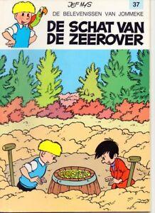 JOMMEKE-037-DE-SCHAT-VAN-DE-ZEEROVER-37-strip-Jef-Nys