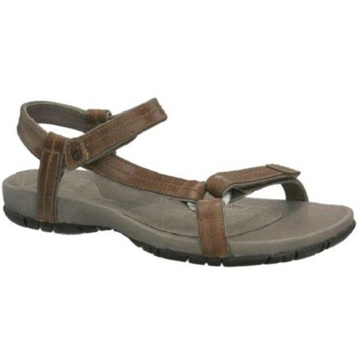 Teva Femme Meadow Luxe Cuir Sport sandaldrifted marron clair 6