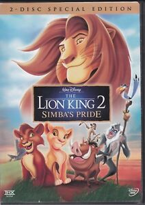 The Lion King 2 Simbas Pride Special Edition Dvd 2004 2 Disc Set 786936231717 Ebay