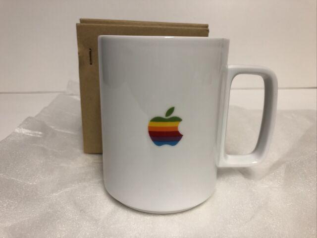 Apple Logo Macintosh Computer Hasami Porcelain Japan White Coffee Mug 16 Oz For Sale Online Ebay