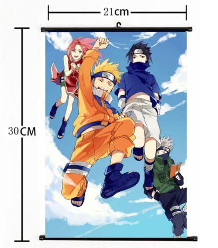 767 Hot Japan Anime NARUTO Wall Poster Scroll Home Decor cosplay A