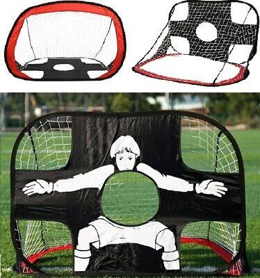 Kids Portable Folding Football Outdoor Soccer Goal Training Hot Net Carry T1Q2