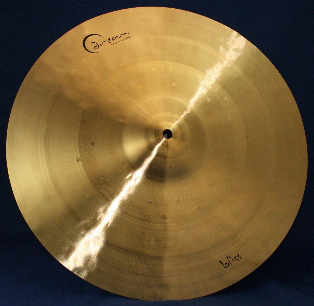 Dream Cymbals BCRRI19 Bliss 19  Crash Ride Cymbal NEW + FREE 2 DAY SHIPPING