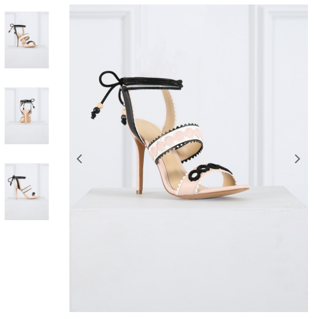 NEW Forever Unique Harlem Nude White Heel shoes Strappy Sandal Peep 5 38