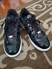 Nike Air Force 1 Size UK 6 EU 40 Black Patent Leather for