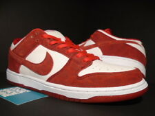 Nike Sb Dunk Low Premium Valentines Day Red White Ds Size 10 Ebay