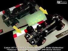 Decal Additif 1/43 Lotus 97T Senna John Player Special JPS F1 collection altaya