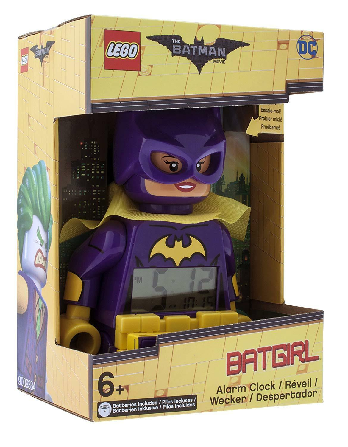 Alarm Lego Batman 9009334 Watch Movie Batgirl Figurine and Games of Construction
