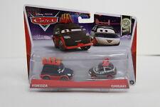 NEW DISNEY CARS PIXAR Tuners Yokoza And Chisaki  2 Pack