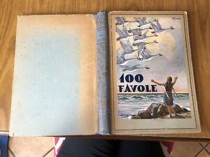 ANTICO LIBRO 100 FAVOLE Piroska Tabori III^ EDIZIONE EDIZIONI GENIO MILANO