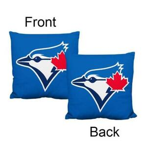 Toronto Blue Jays Deluxe Logo Style Decorative Cushion Cover Without Insert (New) Calgary Alberta Preview