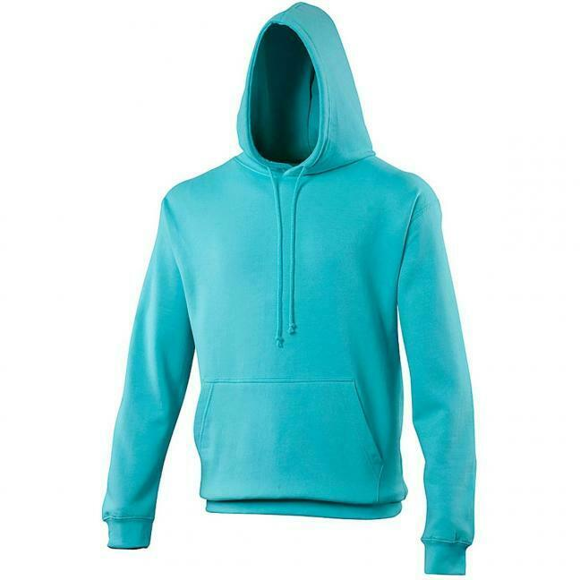 AWDis Just Hoods - Turquise Hoody - size small