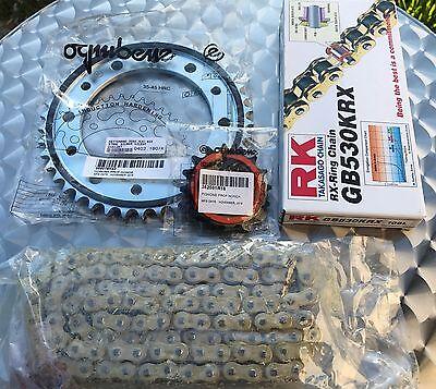 RK X-Ring Kettensatz Honda CBR 900 RR Kettenkit 16-42-108 SC50 gold SC44