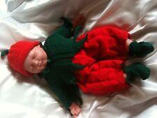 Muñeca Bebé Tejer patrón DK/0-3 &/3-6 meses Reborn Elf Julie Anne Designs