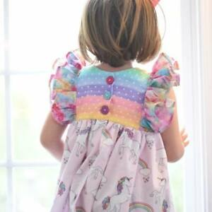 Girls Little Bird Clothing Company Lbcc Unicorn Sadie Tunic Size 10 Euc Unicorns Ebay