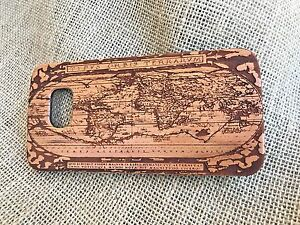 Ancient-world-map-Roman-iPhone-wooden-case-amp-Galaxy-wood-cover-phone-cases