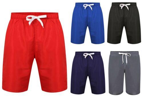 Men/'s Swimming Football Shorts Full Mesh Lined Swim Beach Holiday Trunks Boys PE