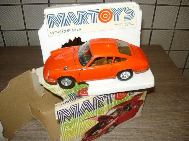Martoys 102  Porsche 911s Burago 1 25 Scale RC voiture  mode classique