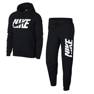 Details about Nike Mens Tracksuit Fleece Hooded Jogging Bottms Joggers - M  L XL Newest Model