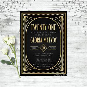 21ST-BIRTHDAY-INVITATIONS-GATSBY-1920S-TWENTY-ONE-PERSONALISED-PARTY-SUPPLIES