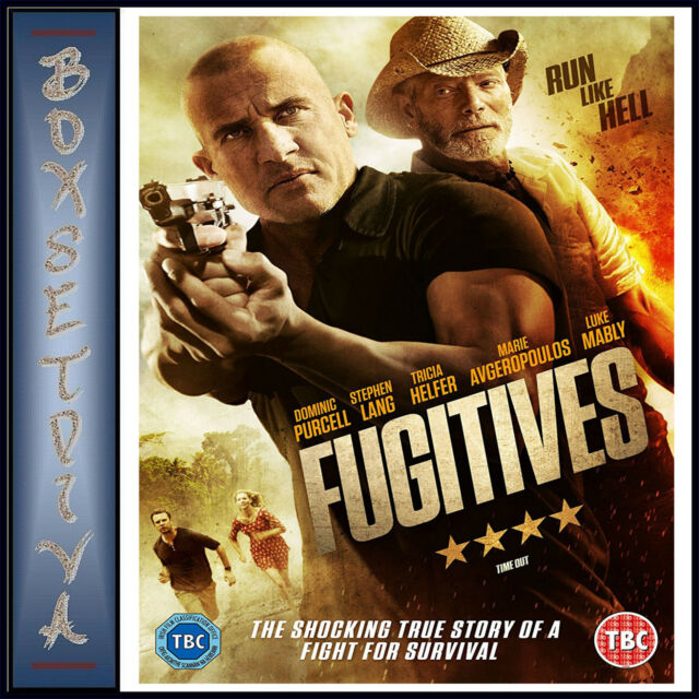 FUGITIVES -  Dominic Purcell & Stephen Lang  *** BRAND NEW DVD***