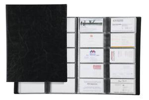 Details Zu Durable Visitenkartenbuch Visifix Für 400 Visitenkarten Din A4 Format