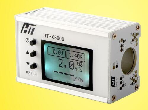Initial velocity shooting chronograph range velometer speedometer 120sets date