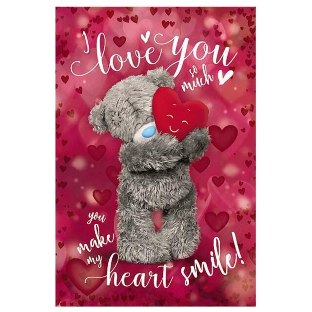 3D Holographic Wife Me to You Bear Valentines Day Card