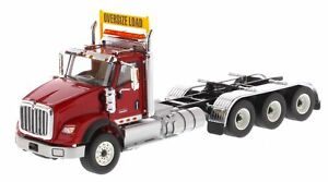 Diecast Masters - Camion Tridem Rouge International Hx620 à l'échelle 1:50 4897069497089