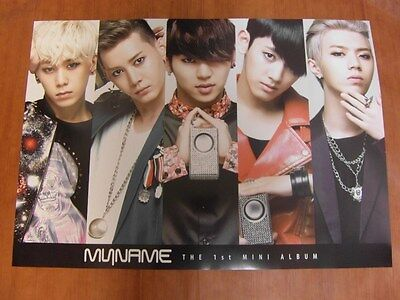 MYNAME - The 1st Mini Album [OFFICIAL] POSTER K-POP *NEW* MY NAME