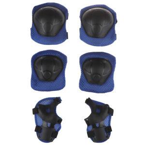 Kinder Schutzausrüstung Protektoren Set Handgelenke Knieschützer Skates Schoner