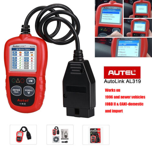 Autel KFZ OBD2 OBDII Diagnosegerät Profi Scanner Auslesegerät PKW Tester Auto319