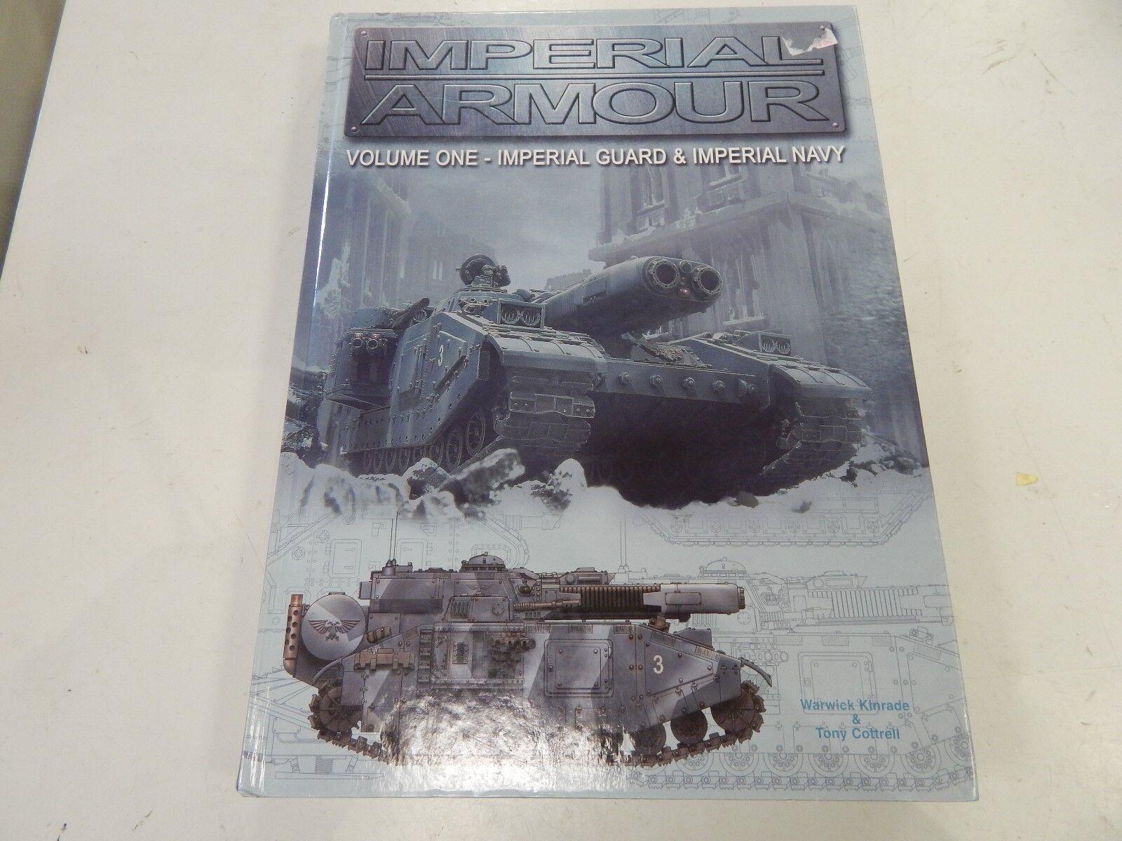 Imperial Amour Vol1-Imperial Guard & Imperial Navy Edición De Tapa Dura