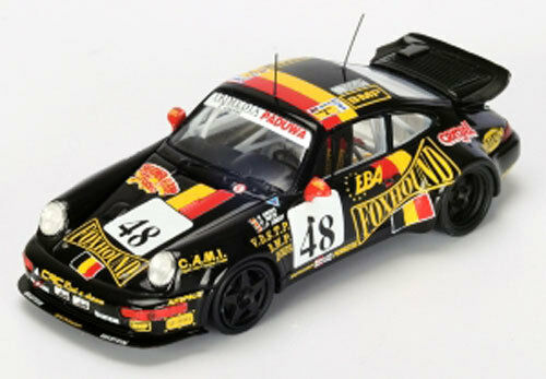 Spark Model 1:43 S4440 PORSCHE 911 Carrera 2 Cup n 48 LM93 Grohs/Theys/Liber NEW