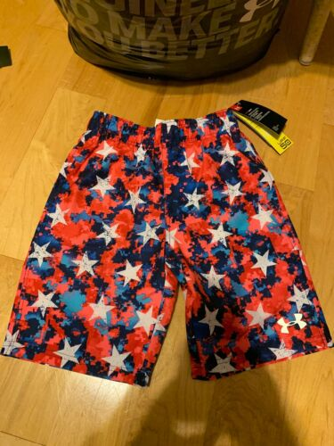 Under Armour Boys Youth Bathing Suit Loose Fit Heat Gear UPF 50 Nwts USA Large