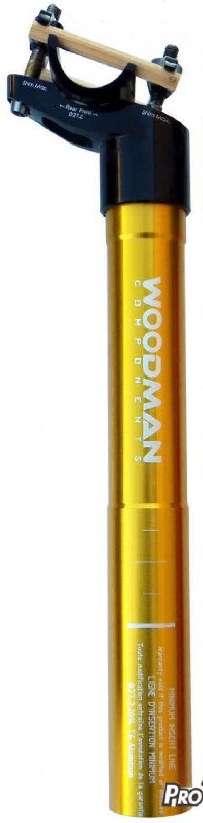 Tige De Selle WOODMAN POST DX Aluminium - 27.2 250mm
