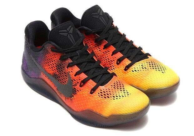 New Nike Hommes Kobe Xl Basketball Chaussure Crimson/ Noir /Violet 836183-805
