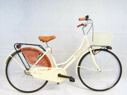Bicycle Women/'s Style Retro /'Vintage Holland 26 Walk Color Cream
