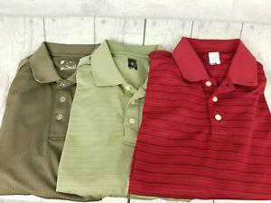 Slazenger-Golf-Mens-Size-Large-Shirt-Polo-Lot-of-3-Size-Large-Breathable-Wicking