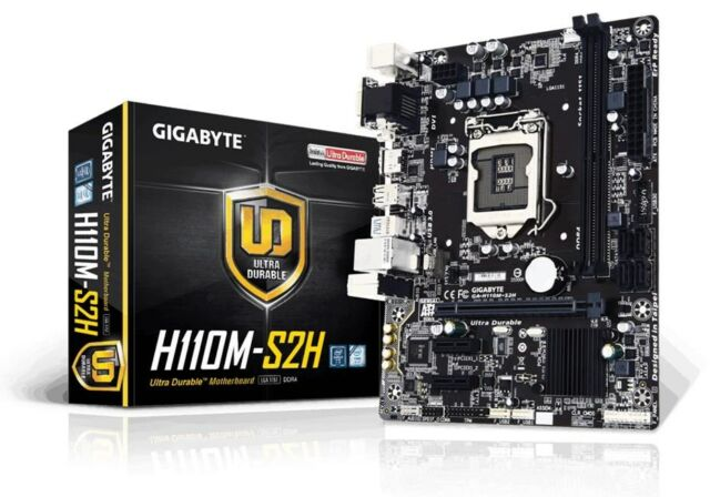 Gigabyte H110M-S2H Matx Placa Base Intel LGA 1151 CPU