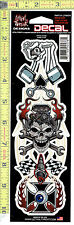 Speed Crazy Gearhead Window Decal Sticker for Car/Truck/Motorcycle/Laptop 578