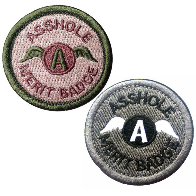 Embroidered Tactical Morale Patch I Do It For The Booty