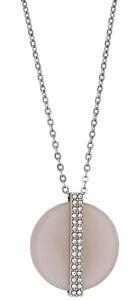 Swarovski-Rose-Quartz-Disque-M-Pendentif-Collier-Pour-Femme-5190026