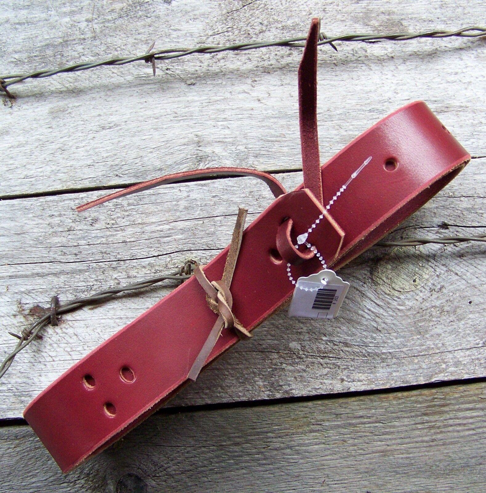 Tie Strap - Ultimate Latigo Leather by Schutz Bredhers