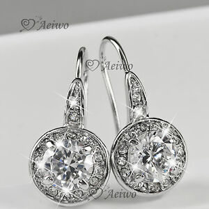 NEW-DROP-EARRINGS-9K-GF-9CT-WHITE-GOLD-MADE-WITH-SWAROVSKI-CRYSTAL-SPARKLING