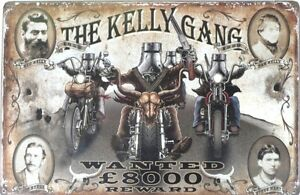 NED-KELLY-GANG-WANTED-600X400-ALL-WEATHER-Metal-tin-Sign