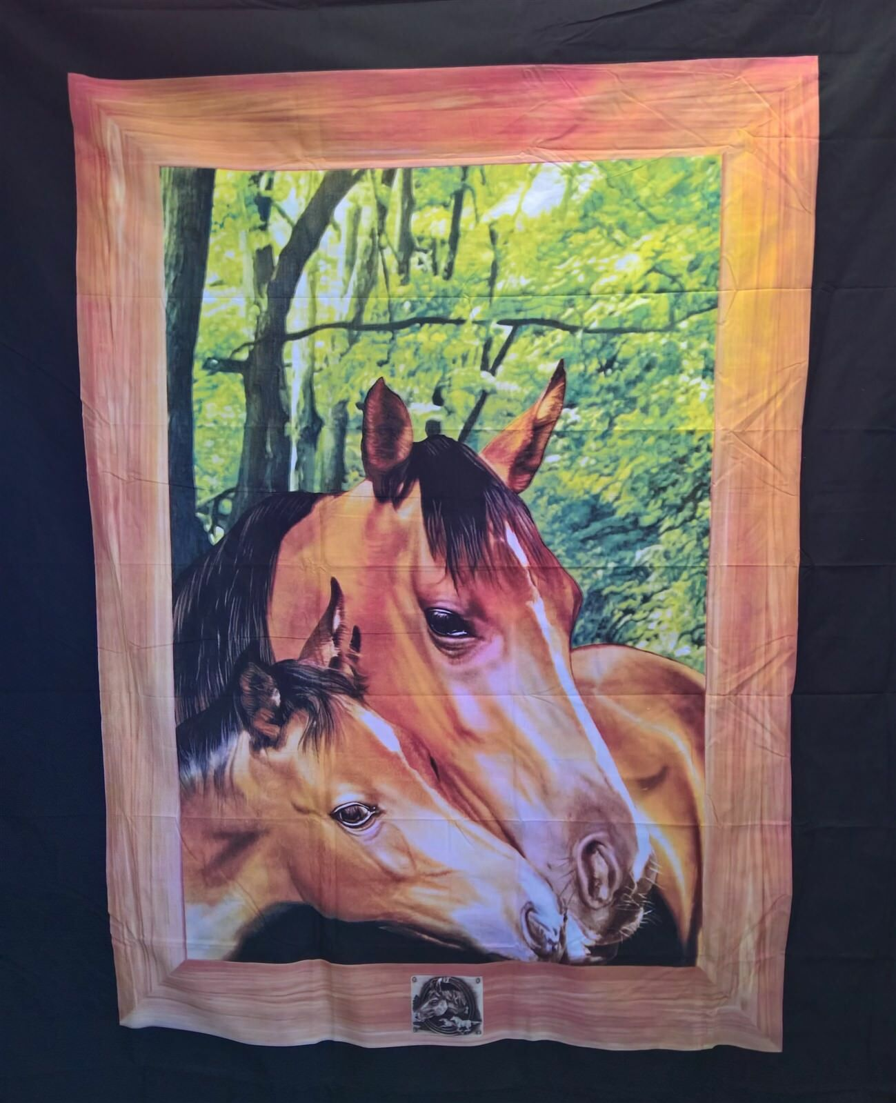 Two Horse Frame - DOONA QUEEN BED BEDROOM QUILT DUVET COVER